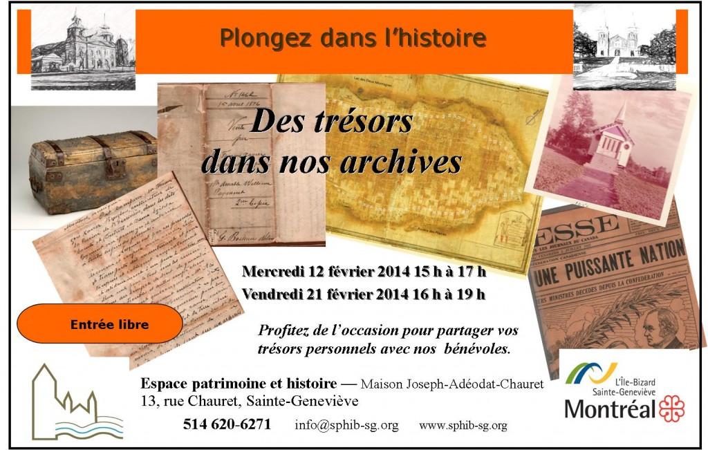 De trésors dans nos archives