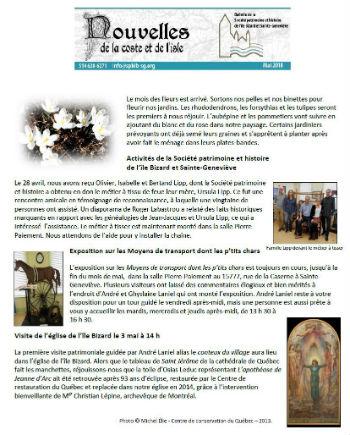 Bulletin de mai