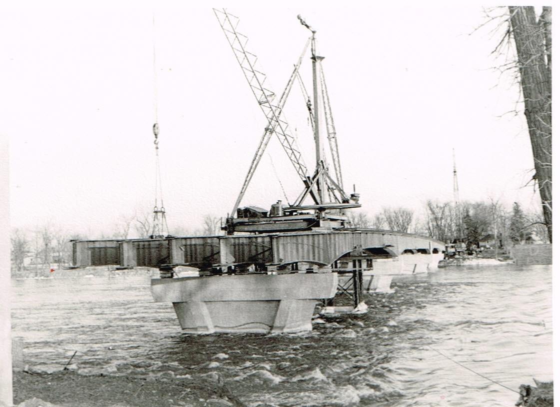 Construction du pont 1966-2, Roger Labastrou