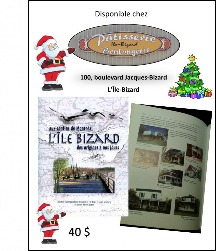 Livre chez Pâtissserie de l'île - Noël